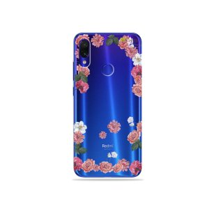 Capa para Xiaomi Redmi Note 7 - Pink Roses