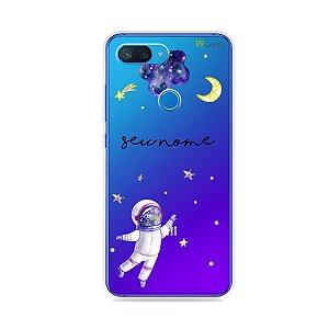 Capa Astronauta Sonhador com nome personalizado - 99Capas