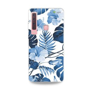 Capa para Galaxy A9 2018 - Flowers in Blue