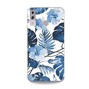 Capa para Asus Zenfone 5 e 5Z - Flowers in Blue