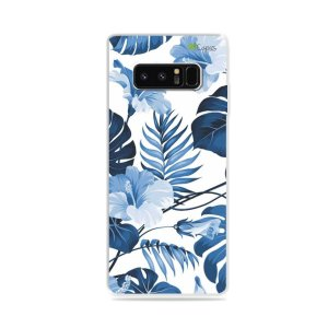 Capa para Galaxy Note 8 - Flowers in Blue