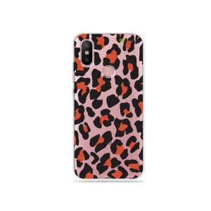 Capa para Xiaomi Mi A2 - Animal Print Red