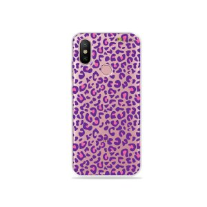 Capa para Xiaomi Mi A2 - Animal Print Purple