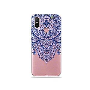 Capa para Xiaomi Mi A2 - Mandala Azul