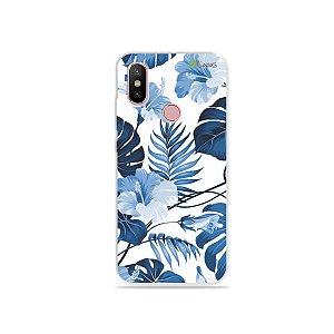Capa para Xiaomi Mi A2 - Flowers in Blue