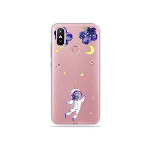 Capa para Xiaomi Mi A2 - Astronauta Sonhador