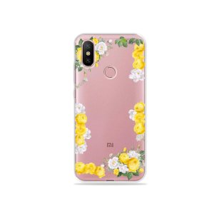 Capa para Xiaomi Mi A2 - Yellow Roses