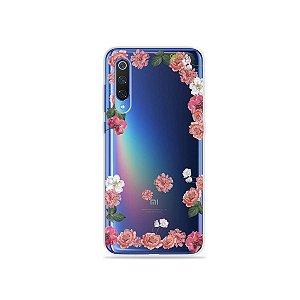 Capa para Xiaomi Mi 9 - Pink Roses