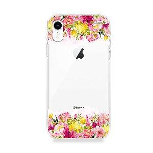Capa para iPhone XR - Botânica