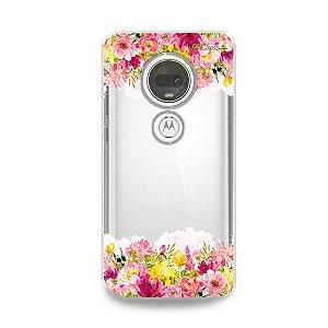 Capa para Moto G7 Plus - Botânica