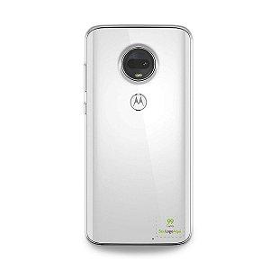Capa Anti-shock transparente para Motorola com sua logo no canto inferior direito