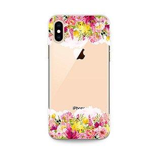 Capa para iPhone X/XS - Botânica