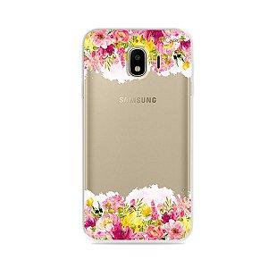 Capa para Galaxy J4 2018 - Botânica