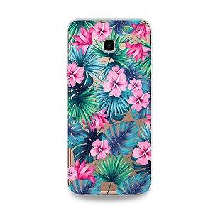 Capa para Galaxy J4 Plus - Tropical