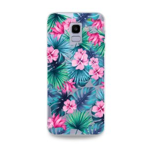 Capa para Galaxy J6 - Tropical