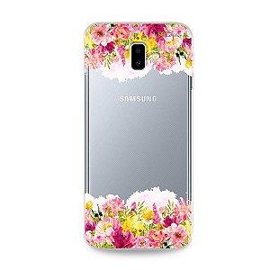 Capa para Galaxy J6 Plus - Botânica