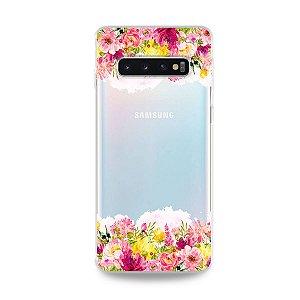 Capa para Galaxy S10 Plus - Botânica