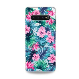Capa para Galaxy S10 Plus - Tropical
