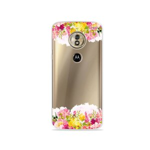 Capa para Moto G6 Play - Botânica