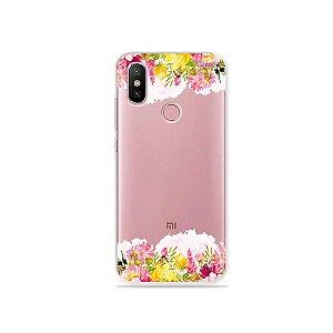 Capa para Xiaomi Mi A2 - Botânica