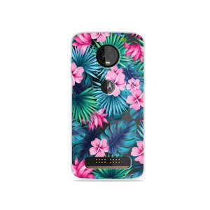 Capa para Moto Z3 Play - Tropical