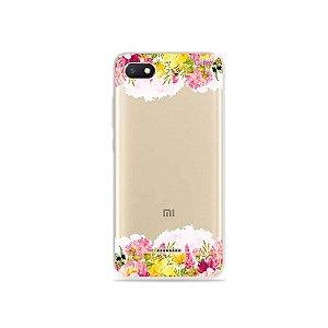 Capa para Xiaomi Redmi 6A - Botânica