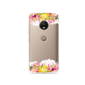 Capa para Moto G5 Plus - Botânica