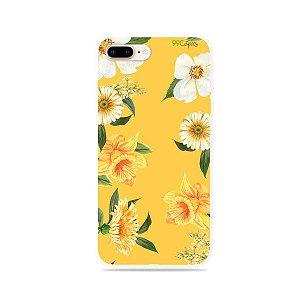 Capa para iPhone 8 Plus - Margaridas