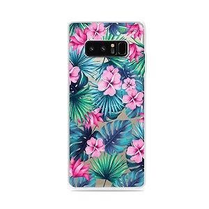 Capa para Galaxy Note 8 - Tropical