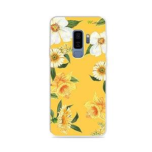 Capa para Galaxy S9 Plus - Margaridas