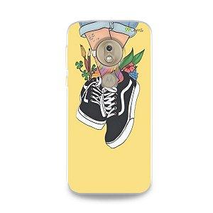 Capa para Moto G7 Play - Sneakers