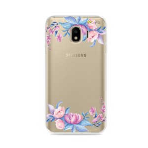 Capa para Galaxy J4 2018 - Bromélias