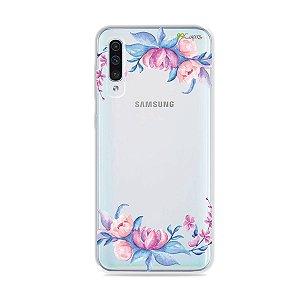 Capa para Galaxy A50 - Bromélias