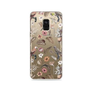 Capa para Galaxy A8 2018 - Sweet Bird