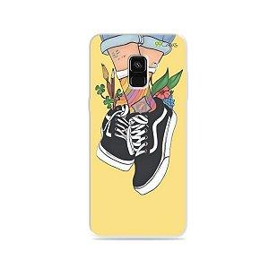 Capa para Galaxy A8 Plus 2018 - Sneakers