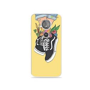 Capa para Moto E5 - Sneakers