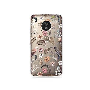Capa para Moto G5 - Sweet Bird
