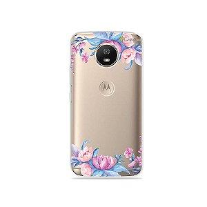 Capa para Moto G5S - Bromélias