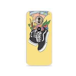 Capa para Moto G6 Play - Sneakers