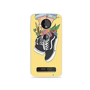 Capa para Moto Z3 Play - Sneakers