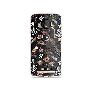 Capa para Moto Z3 Play - Sweet Bird