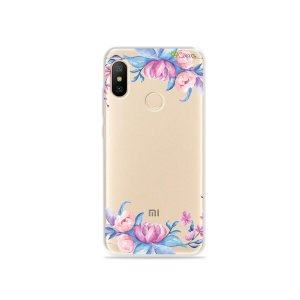 Capa para Xiaomi Mi A2 Lite - Bromélias