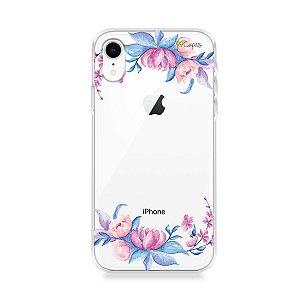 Capa para iPhone XR - Bromélias