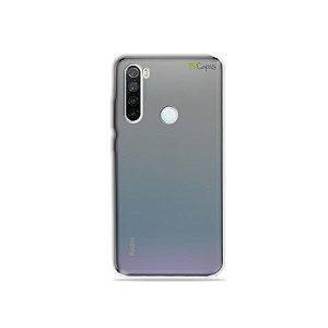 Capa Fumê para Xiaomi Redmi Note 8 {Semi-transparente}