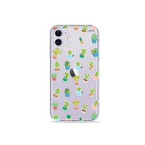 Capa para iPhone 11 - Cactus