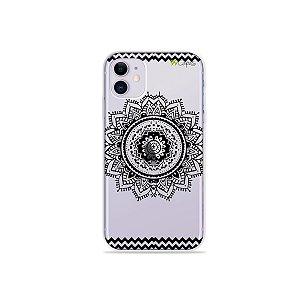 Capa para iPhone 11 - Mandala Preta