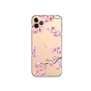 Capa para iPhone 11 Pro - Cerejeiras