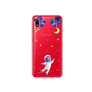 Capa para Galaxy A10 - Astronauta Sonhador