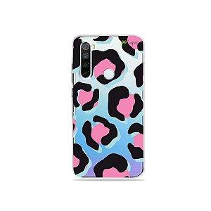 Capa para Xiaomi Redmi Note 8 - Animal Print Black & Pink