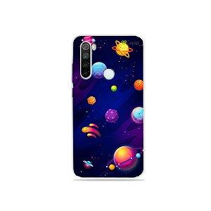 Capa para Xiaomi Redmi Note 8 - Galáxia